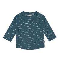 UV Shirt Kinder - Langarm Rashguard, Waves Blue