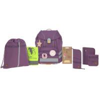 Ehrlich Brothers Schulranzen Set, Unique Purple (Special Edition)