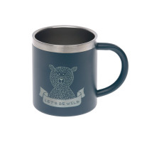 Kindertasse Edelstahl (Isoliert) - Cup, Adventure Blue
