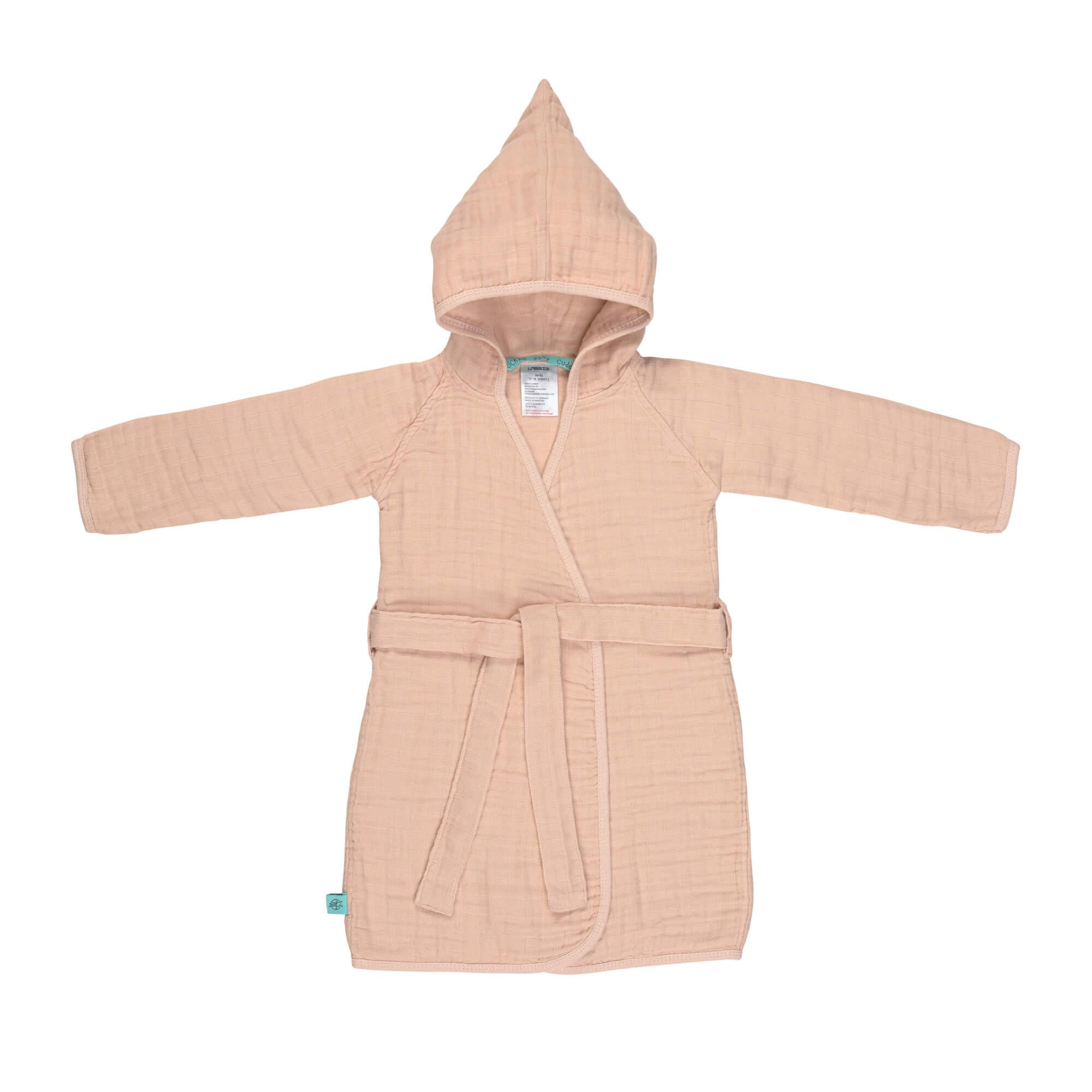 Lassig Muslin Bathrobe Light Pink Lassig Fashion