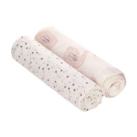 Mulltücher (2 Stk) - Heavenly Soft Swaddle XL, Little Water Swan