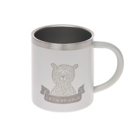 Kindertasse Edelstahl (Isoliert) - Cup, Adventure Grey
