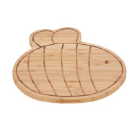Breakfast Board Bamboo/Wood Garden Explorer Bee