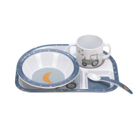 Kindergeschirr Set - Dish Set, Adventure Traktor