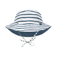 Sonnenhut Kinder - Bucket Hat, Stripes Navy